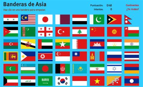 imagenes de banderas de paises mapa interactivo de asia banderas de asia juegos de