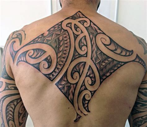 cool back tattoos for guys 60 tribal back tattoos for bold masculine designs