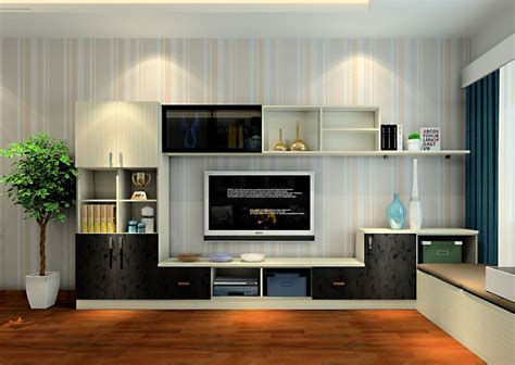 Living Room Tv Set Interior Design Cabinets For The Living Room Modern House