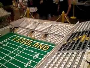 How To Make A Football Stadium Out Of Paper - lego football stadium