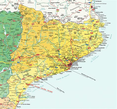 map tourist attractions spain map tourist attractions travelsfinders
