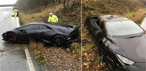 Lamborghini Car Crashes Leicester S Jeffrey Schlupp Slams The Sun Boastful