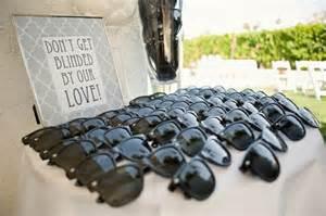 Wedding favors sunglasses