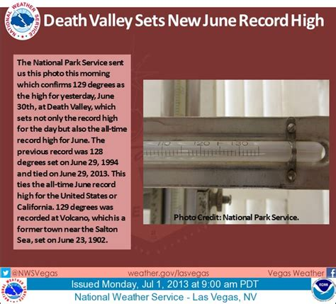 Valley Temperature Record A Warm Soft July Day Here Monday June Record Heat Confirmed In Valley Sunday