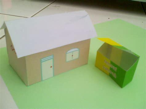 cara membuat rumah rumahan hamster dari kardus kerajinan tangan santri tpa membuat rumah rumahan