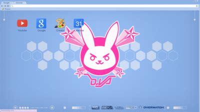 theme google chrome rabbit bunny chrome themes themebeta