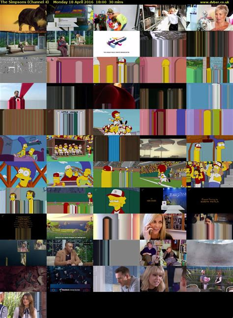 The Simpsons 04 the simpsons channel 4 hd 2016 04 18 1800