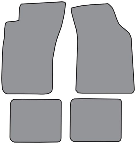 Mitsubishi 3000gt Floor Mats by 1991 1999 Mitsubishi 3000gt Cutpile 4pc Factory Fit Floor