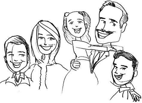 coloring pages of joint family sketch in family kitchen coloring pages
