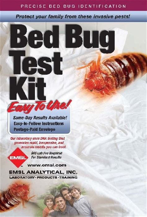 test for bed bugs bed bug test 28 images emsl analytical inc testing