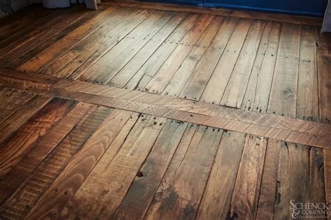 Pallet Wood Floor Appealing Pallets Traditional Houston By Schenck And