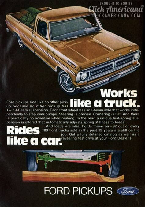 books about cars and how they work 1972 pontiac grand prix electronic throttle control ford pickup works like a truck rides like a car 1972 click americana