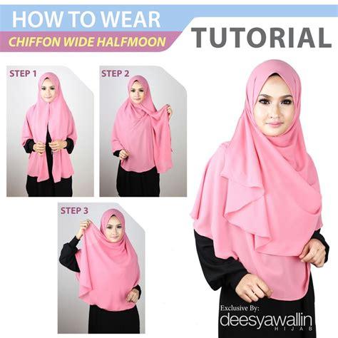 tutorial hijab chiffon simple 17 best images about tutorial hijabs on pinterest simple