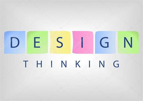design html title design thinking title as concept for solution based