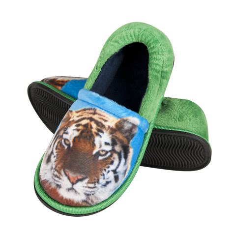 tiger slippers soxo children s photo slippers with tiger slippers