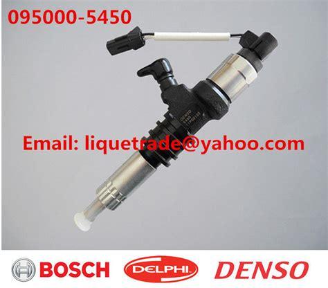 Fuel Mitsubishi Galant V6 Ori Denso denso common rail injector 095000 5450 for mitsubishi 6m60 fuso me302143