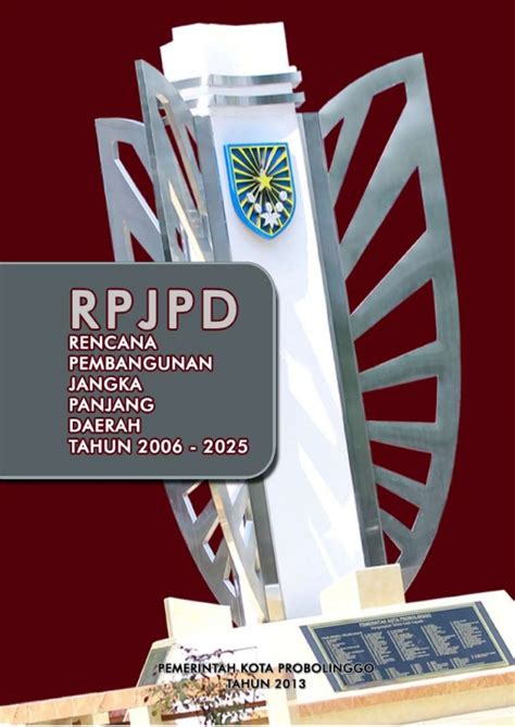 Batik Kota Probolinggo 1 rpjpd kota probolinggo tahun 2005 2025
