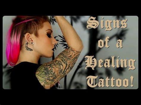 tattoo healing questions signs of a healing tattoo breeann barbie youtube