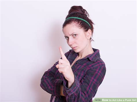 how to do punk how to act like a punk girl 7 steps with pictures wikihow