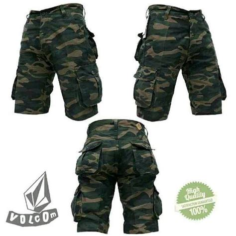 Celana Cargo Pendek Pria R0241 jual celana cargo army pendek di lapak nazrielcloth queensha1