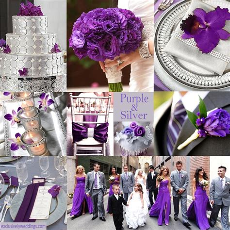 wedding colour themes silver purple wedding color combination options 171 exclusively