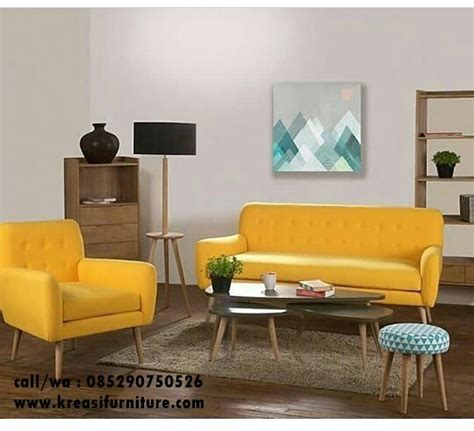 Kursi Sofa Cafe kursi sofa minimalis scandinav kreasi furniture jepara
