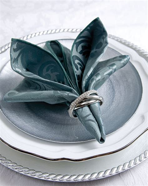 Servietten Falten Technik napkin folding technique teatime magazine