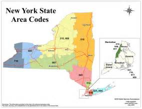 New York Area Codes Map by New York Area Code Map Rotterdamsemetabolisten