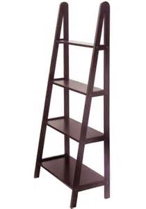 Standing Bookshelves Four Tier A Frame Shelf In Free Standing Shelves
