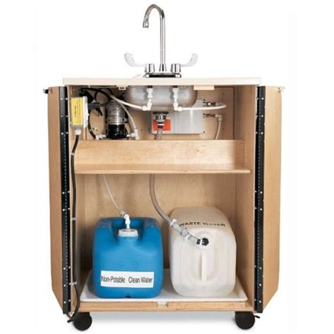 portable cing kitchen with sink portable sinks for
