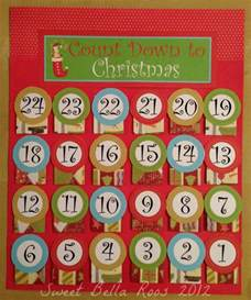 Free Printable Advent Calendar Template by Free Advent Calendar Printable Sweet Roos