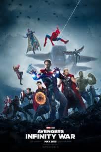 Infinity Wars Forum Infinity War Poster 3 Version B By Bakikayaa On