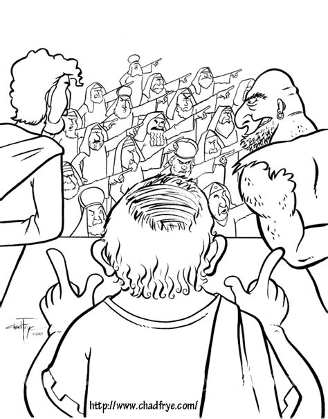 coloring pages jesus before pilate zweifelt nicht mehr chrp1 s4kc1 s4kc2