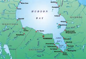 map of hudson bay canada hudson bay freaking ruins the map of canada