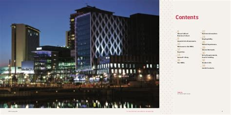 Salford Executive Mba by The Salford Mba Salford Business School Mba