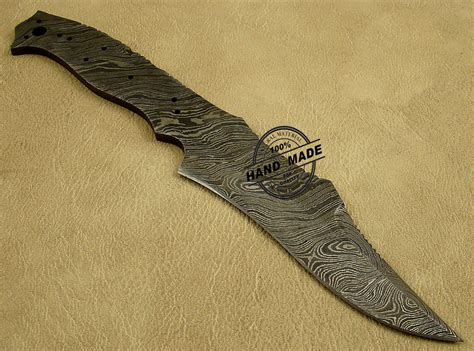 custom knife blanks professional damascus blank blade knife custom handmade