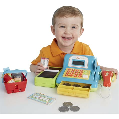 Check Toysrus Gift Card Balance Uk - just like home electronic cash register in blue kids fun toy only at toys r us ebay