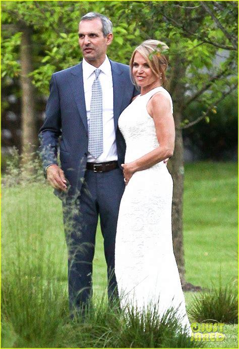 Full Sized Photo of katie couric john molner wedding