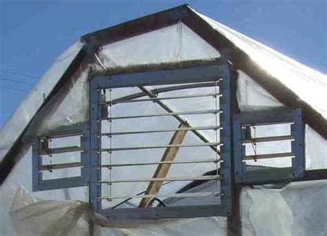 vents on side of house greenhouse vents and ventilation of hot houses simple and not simple ways of removing