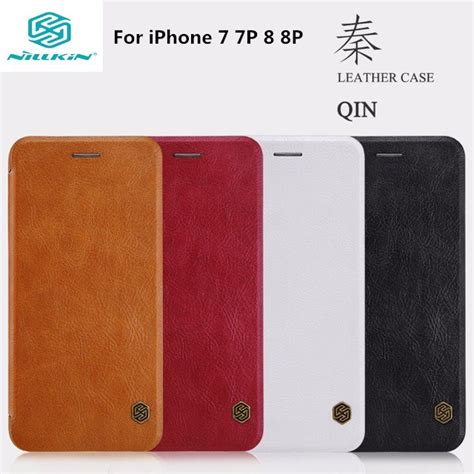 Flip Nillkin Qin Leather Iphone 7 Original Nillkin aliexpress buy for apple iphone 7 7plus nillkin