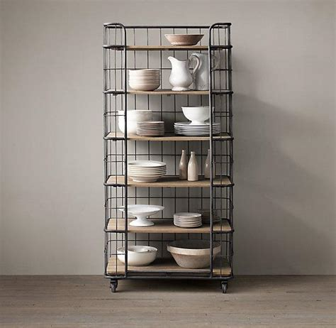 Industrial Bakers Rack by 37 Quot Circa 1900 Baker S Rack I Restoration Hardware