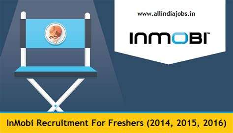 Careers For Mba Freshers 2015 by Inmobi Recruitment 2018 2019 Openings For Freshers