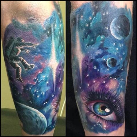 space sleeve tattoos tattoofanblog