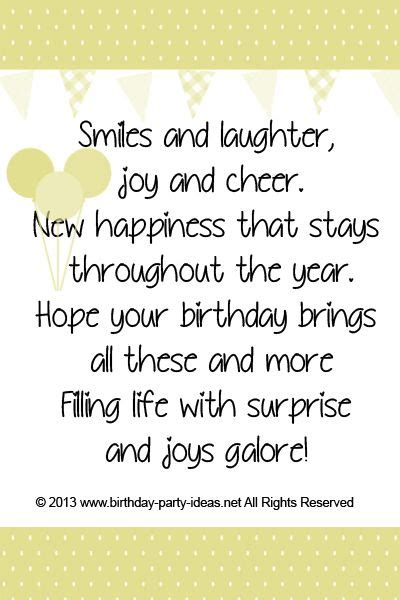 School Birthday Quotes Smiles And Laughter Joy And Cheer New Happiness That