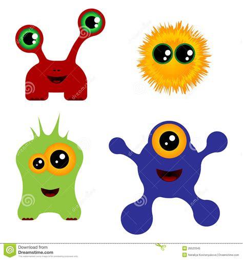 imagenes monstruos halloween conjunto de monstruos ilustraci 243 n del vector ilustraci 243 n