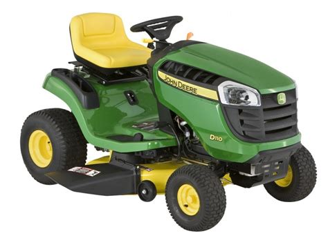 ride on review deere d110 ride on mower farm machinery advisor