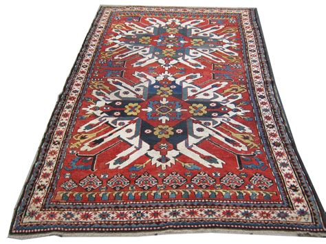 picture of a rug gelaberd rug 19th century eagle kasak zadah antique rugs textiles tapestries and