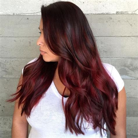 what to dye your hair when its black hot maroon hair colors for 2017 best hair color ideas