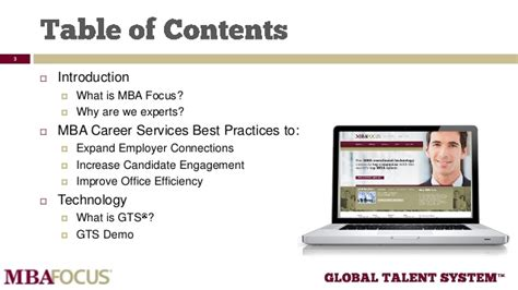 Top Mba Focuses by Best Practices For Mba Career Service Offices