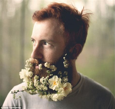 in pics men with flowers in their beards stuff co nz flower beard trend sees hipsters weave foliage into their